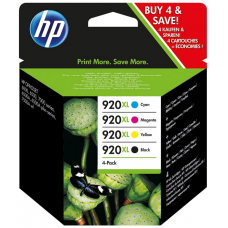 HP C2N92AE (920XL) INK CARTRIDGE MULTI PACK 1.2K PAGES PACK QTY 4